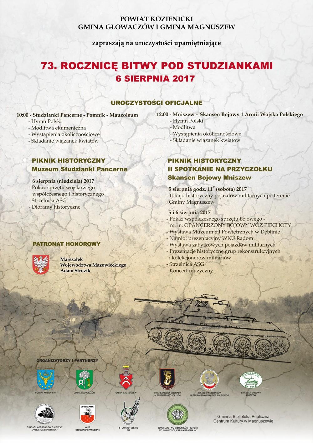 plakat studzianki 2017