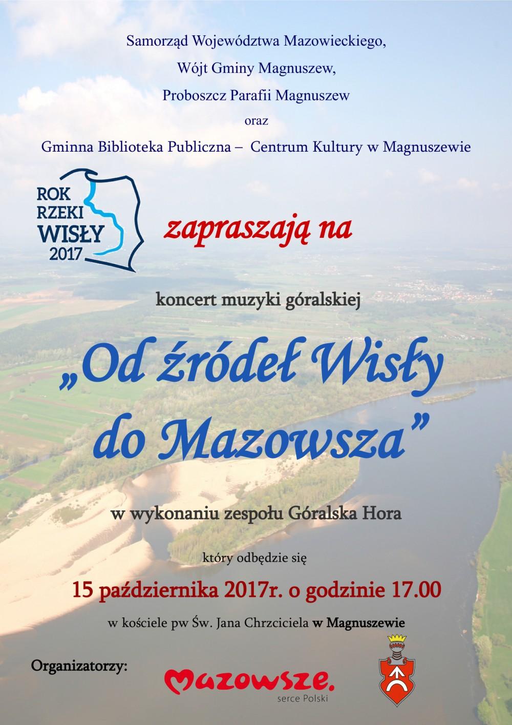 plakat koncert Góralska Hora