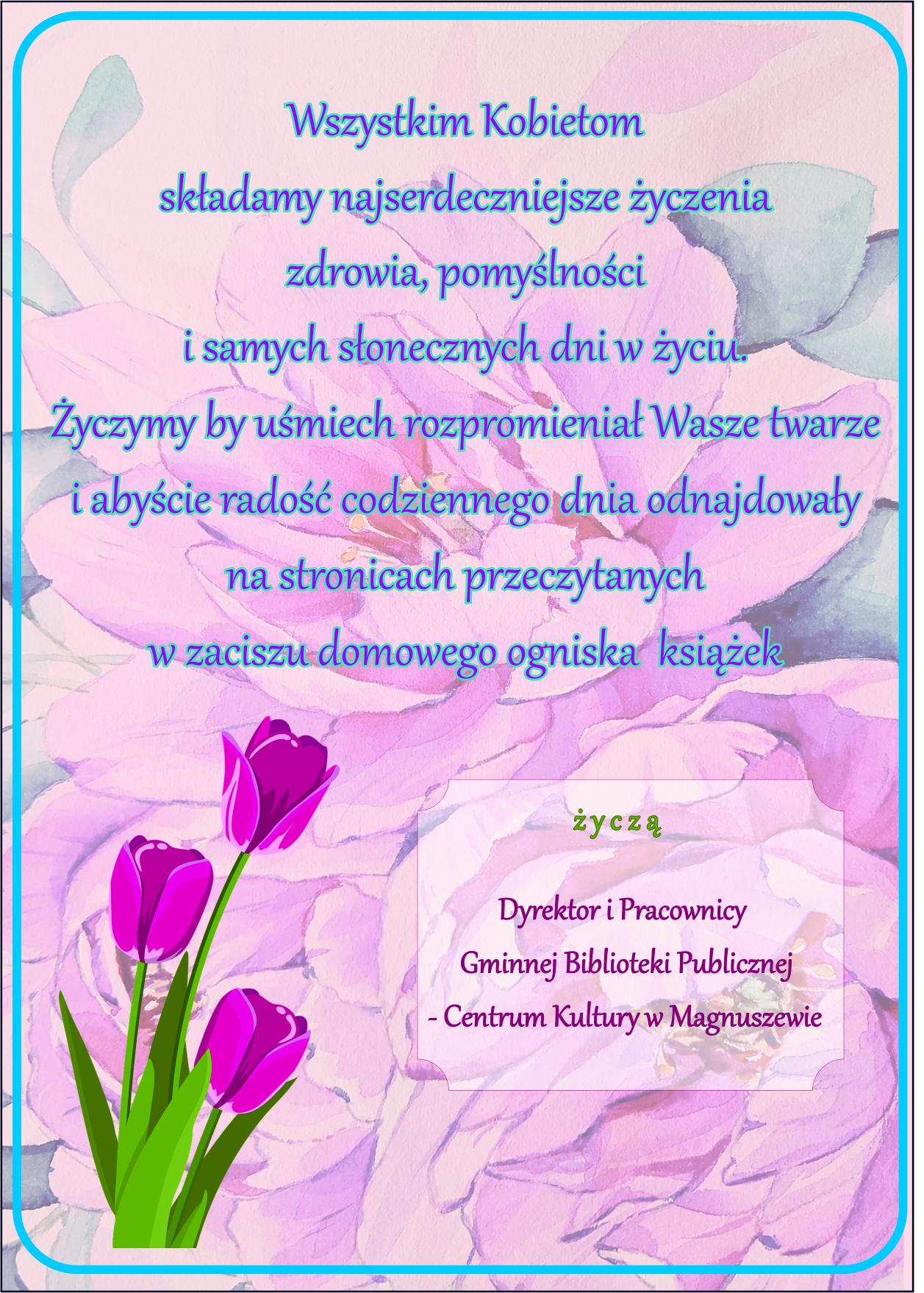 życzenia dzień kobiet str