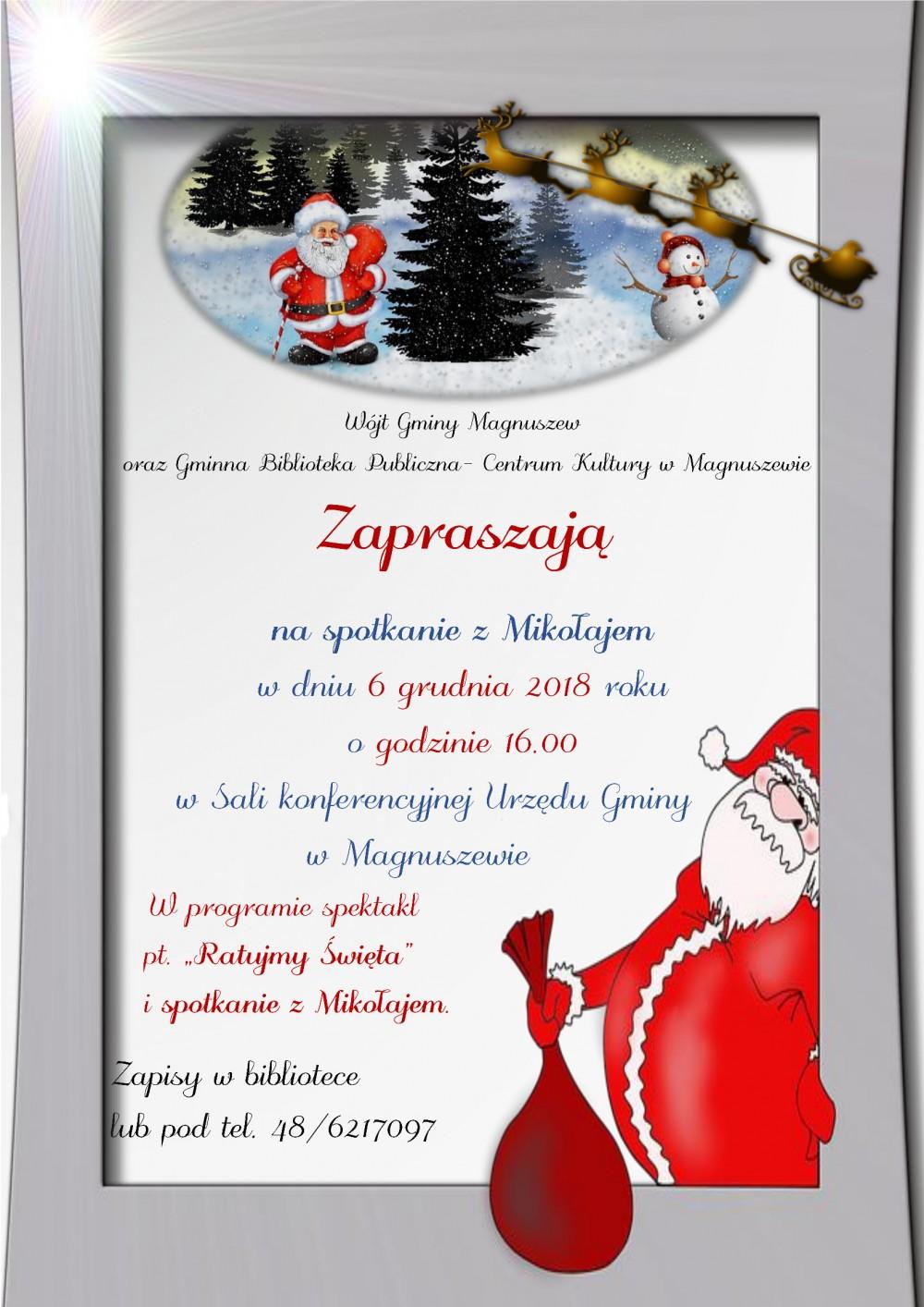 Plakat Mikołaki 2018