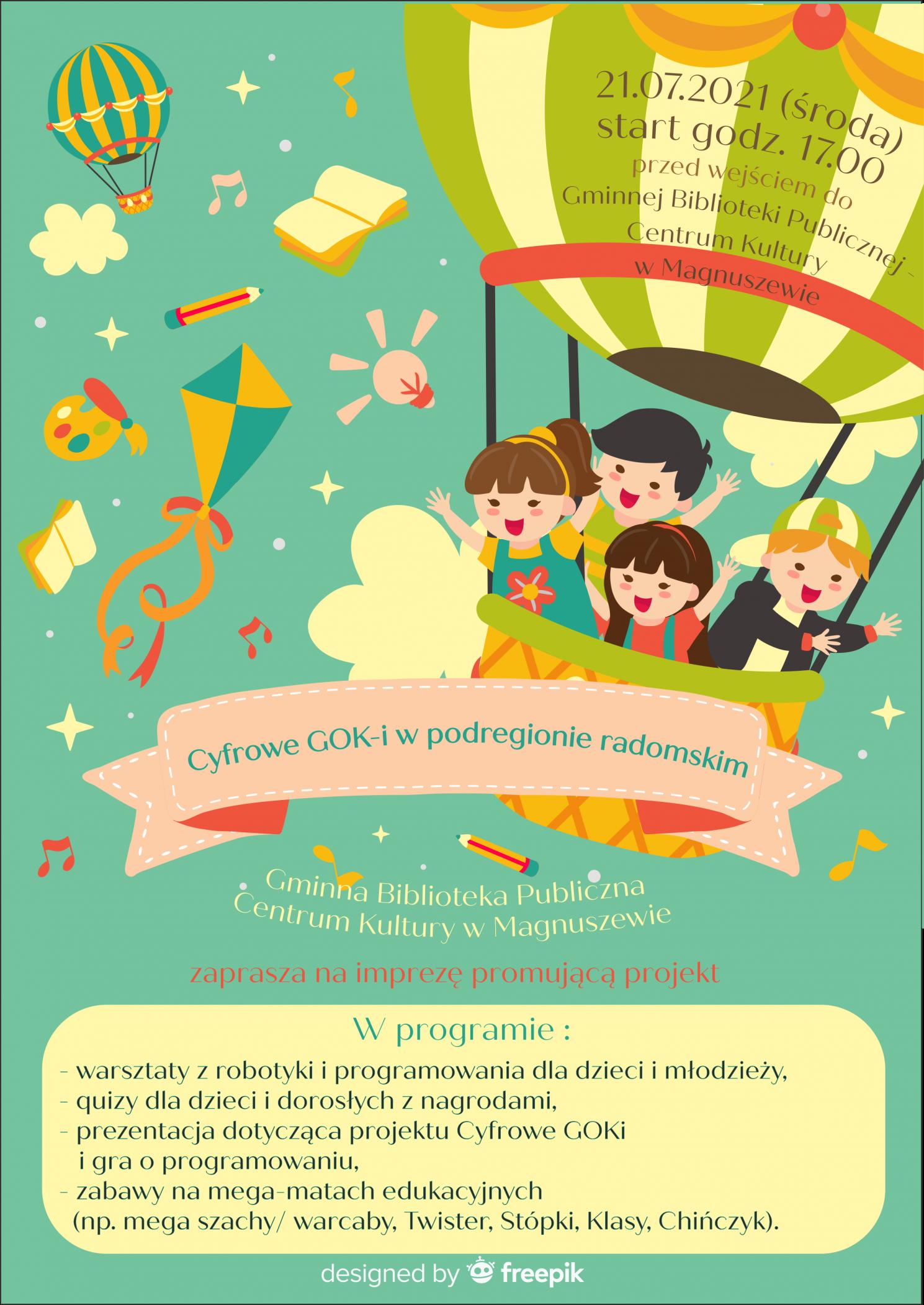 Plakat cyfrowe GOKi